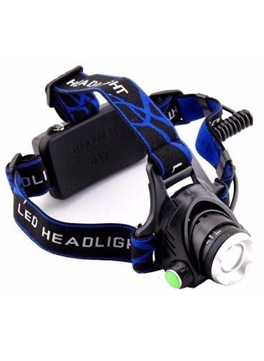 Techmaster 1800 Lümen Şarjlı Led Kafa Lambası Fenere Çalışma Tamir Lambası Renkli